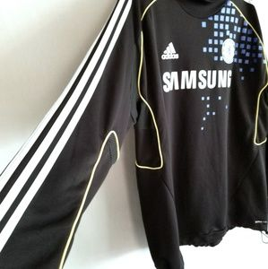 adidas Jackets   Coats - 🔥ADIDAS Chelsea FC TRAINING WARM UP JERSEY SOCCER e155e41a5